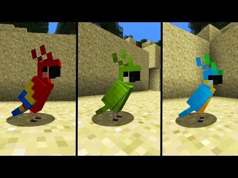 10 Fakten über Minecraft Papageien!