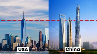 Skyscraper Comparison – USA vs. China
