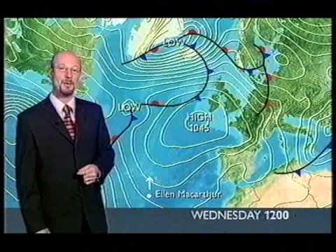 BBC Weather 2nd February 2005