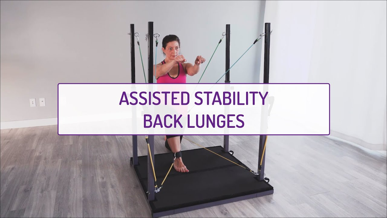 Assisted Stability Back Lunges