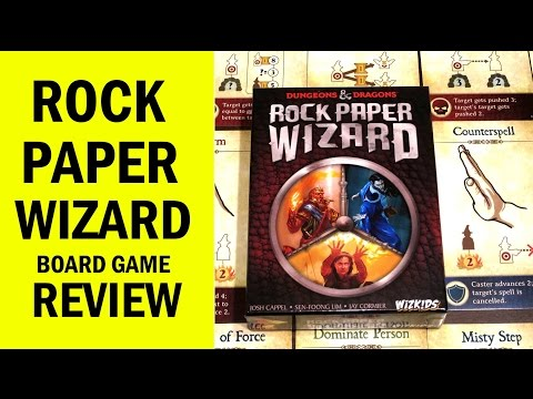 Rock Paper Wizard (Dungeons & Dragons) Review & Runthrough