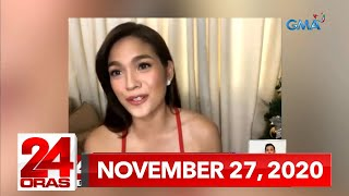 24 Oras Express: November 27, 2020 [HD]