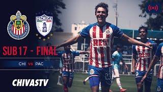 Chivas vs. Pachuca | EN VIVO | FINAL | Vuelta | LigaMX Sub17 AP19