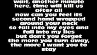 Evans Blue - Cold But I'm Still Here Lyrics