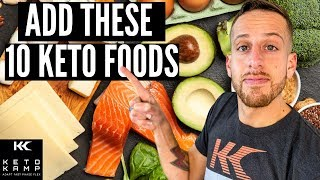 10 Ketogenic Foods You Can Eat All The Time