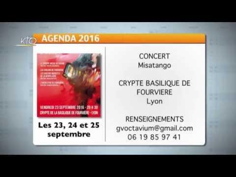 Agenda du 19 septembre 2016
