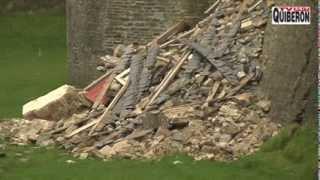 preview picture of video 'Pontivy - Le Chateau des Rohan s'écroule - Pontivy TV'