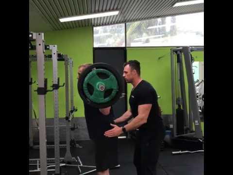 Personal best squat of 85kg