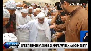 Habib Rizieq Hadiri Pemakaman Mbah Moen di Mekkah