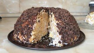 Торт из печенья без выпечки / Рецепт от Оли Салиховой 13 февраля 2019 г.