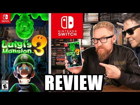 LUIGI'S MANSION 3 REVIEW - Happy Console Gamer