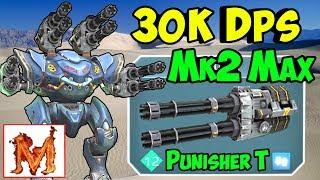 War Robots Brutal 30k DPS Mk2 Maxed Out Punisher Spectre Gameplay WR