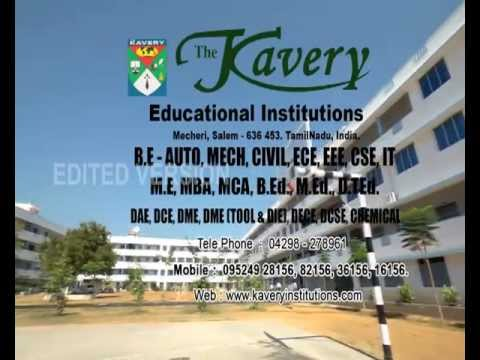 The Kavery Engineering College video cover2
