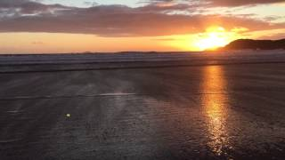 Stunning sunset, Whitesands beach, St Davids, Pembrokeshire, Yewdale Cottage