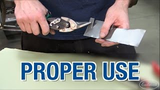 How to Use Tin Snips - Great Tech Tip from Eastwood