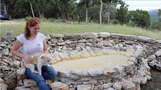 Building a Dog Pool Out of Rock