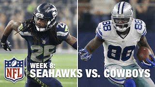 Dez Bryant vs. Richard Sherman Highlights   Seahawks vs. Cowboys   NFL