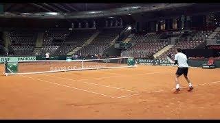 Marcelo Ríos Vs Christian Garin (Copa Davis, Austria)