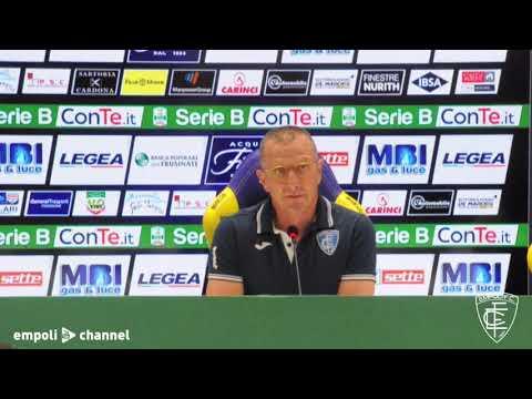 Preview video Le parole di mister Aurelio Andreazzoli al termine di Frosinone-Empoli