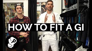 How to fit a Jiu Jitsu Gi with Superare Fight Goods' Dylan Lipari | Jiu Jitsu | Fighting 101