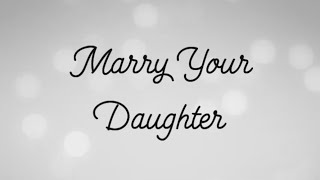 Marry Your Daughter - Brian McKnight (Rita Daniela Cover | Lyric Video)