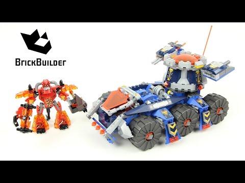 Vidéo LEGO Nexo Knights 70322 : Le transporteur de tour d'Axl