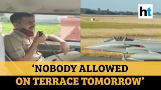 Clicking videos, photos of Rafale jets strictly prohibited: Ambala police