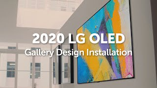 YouTube Video T89KTisO-8o for Product LG GX OLED 4K TV with Gallery Design by Company LG Electronics in Industry Televisions