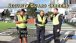 A Career as a Security Guard