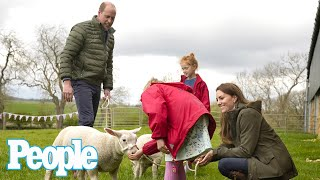 Kate Middleton and Prince William Meet Sheep During Surprise Away-Day to the Country | PEOPLE