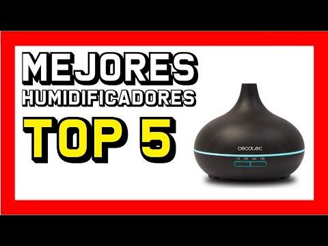 ✅ Los 5 MEJORES HUMIDIFICADORES ultrasónicos de AMAZON 2020 👍
