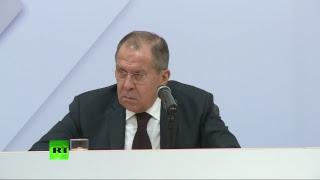 Пресс-подход Сергея Лаврова по итогам третьего пленарного заседания СМИД ОБСЕ
