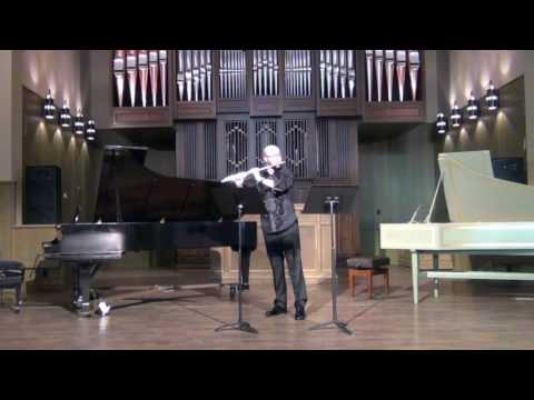 Spencer Hartman performing Cassandra's Dream Song by Brian Ferneyhough.