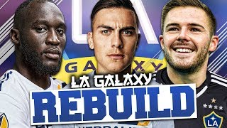 REBUILDING LA GALAXY!!! FIFA 18 Career Mode (IN ENGLAND)