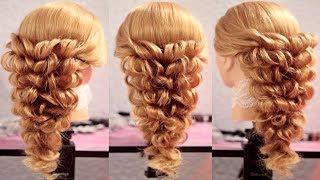 Причёска на резинках | Авторские причёски | Лена Роговая | Hairstyles by REM | Copyright ©