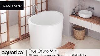True Ofuro Mini Japanese Soaking Bathtub  - Infomercial