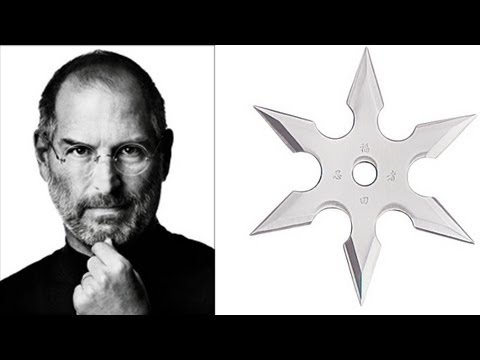 Is This What Happened With Steve Jobs And His Ninja Stars?