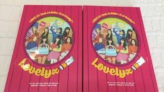 [ Lovelyz ] Unboxing Lovelyz 2nd Album 'R U Ready?'