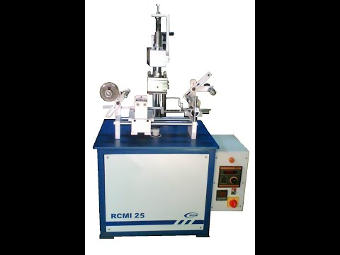 Automatic Nail Polish Cap Hot Foil Stamping Machine