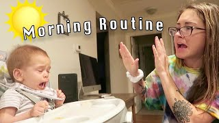 My Morning Routine with a 1 Year Old