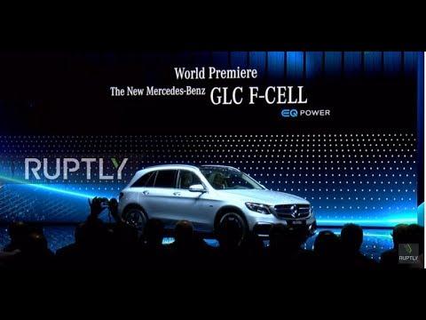 Germany: Mercedes-Benz presents stunning Concept EQA electric car at IAA 2017