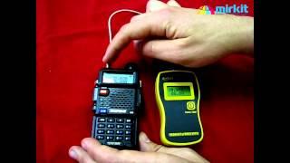 Обзор и тест рации Baofeng UV-5R 8 Ватт