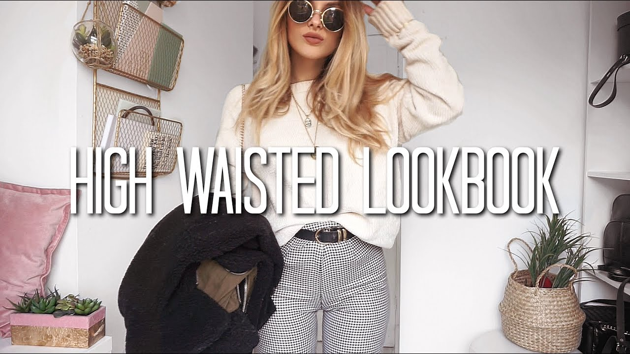 High Waisted Trouser/Jeans Lookbook | Fashion Influx
