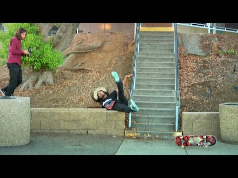 BRUTAL SLAM 20 Stair Feeble!! - Behind The Clips - Cody Lockwood