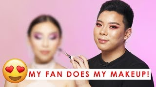 My Fan Does My Makeup! 😍