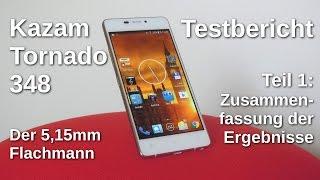 Kazam Tornado 348 Testbericht Teil 1 - www.technoviel.de