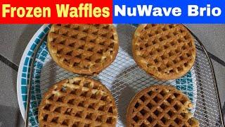 Air Fryer Oven Frozen Waffles, NuWave Brio 14Q