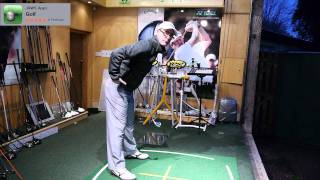 Golf Swing Spine Angle and Swing Plane