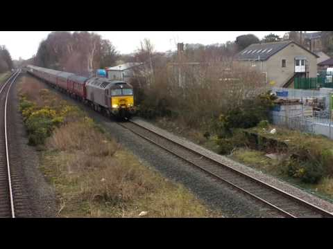 West Coast Railways 57313 & 57316 on Edinburgh Express ECS p…