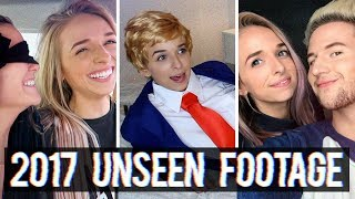 2017 UNSEEN FOOTAGE // BLOOPERS - Video Youtube